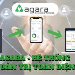 Tính năng tạo website của phần mềm quản trị AGARA