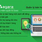 Tính năng bán hàng trong phần mềm quản trị AGARA