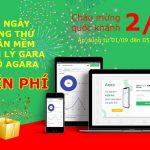 Lễ lớn quà lớn – Agara TẶNG NGAY 90 ngày dùng thử miễn phí phần mềm quản lý gara ô tô
