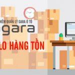 Có phần mềm quản lý gara ô tô Agara chẳng lo hàng tồn